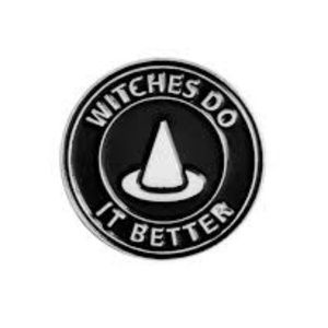 Witches Do It Better Enamel Pin